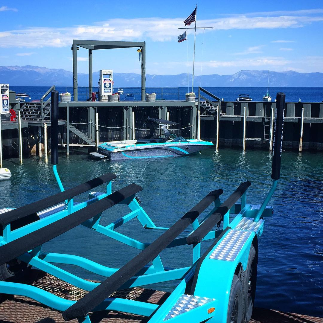 "Pulling #KorgVice off #Tahoe is equal parts ""gratitude"" and ""wishing"" (it was summertime & we were launching). This has been one of the best summers of my life, and I am grateful beyond words for all these on-water memories... Thanks @homewood_marina..."