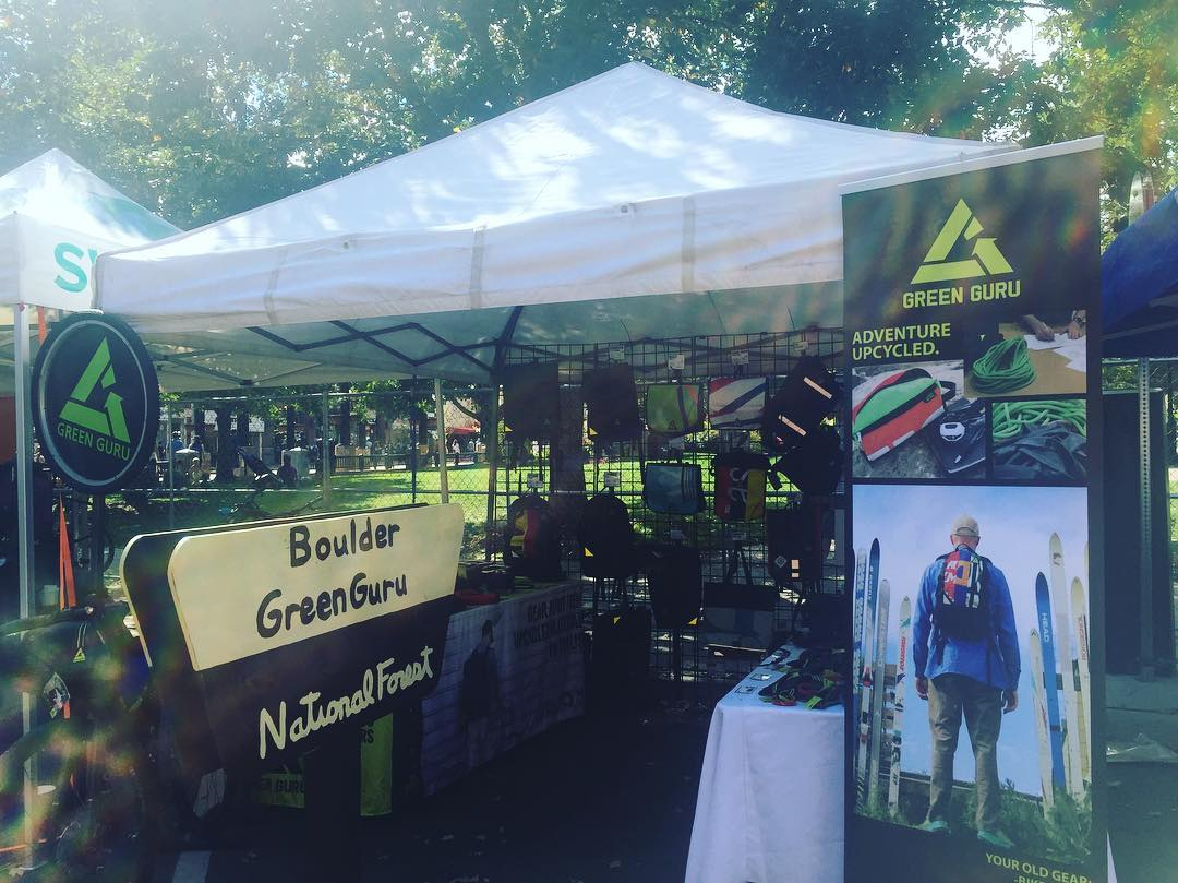 Come down and visit us at the Adventure Film Festival on Pearl Street, we've got tons of product for you to check out!