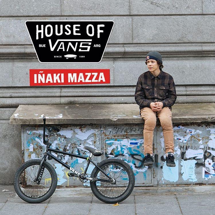 En la #HouseOfVans también habrá BMX. Y ahí estará @ikibmx representando. 8/10 - 14 HS. - Tickets en houseofvansbue.eventbrite.com.ar