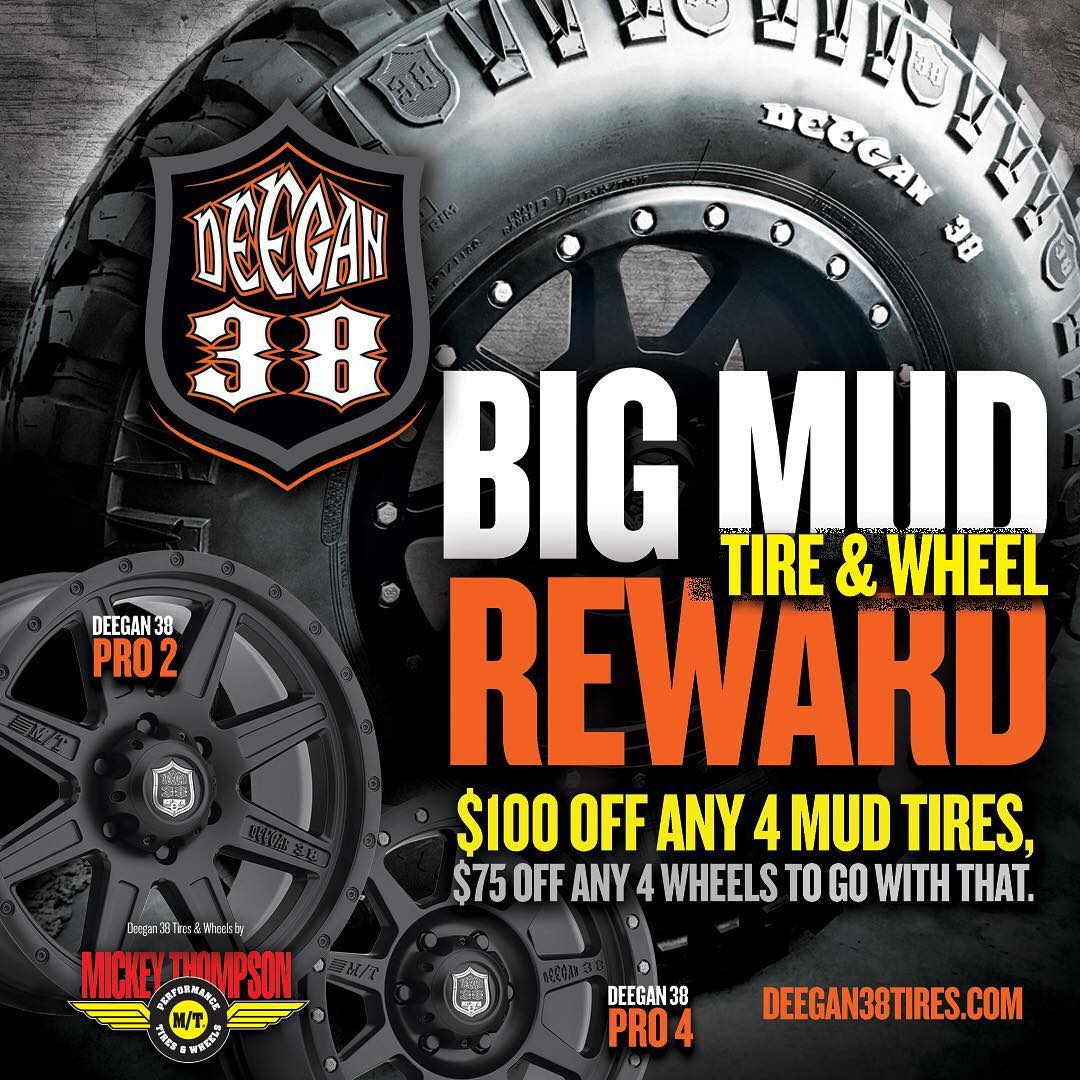 @mickeythompsontires hooking you up with Fall rebate