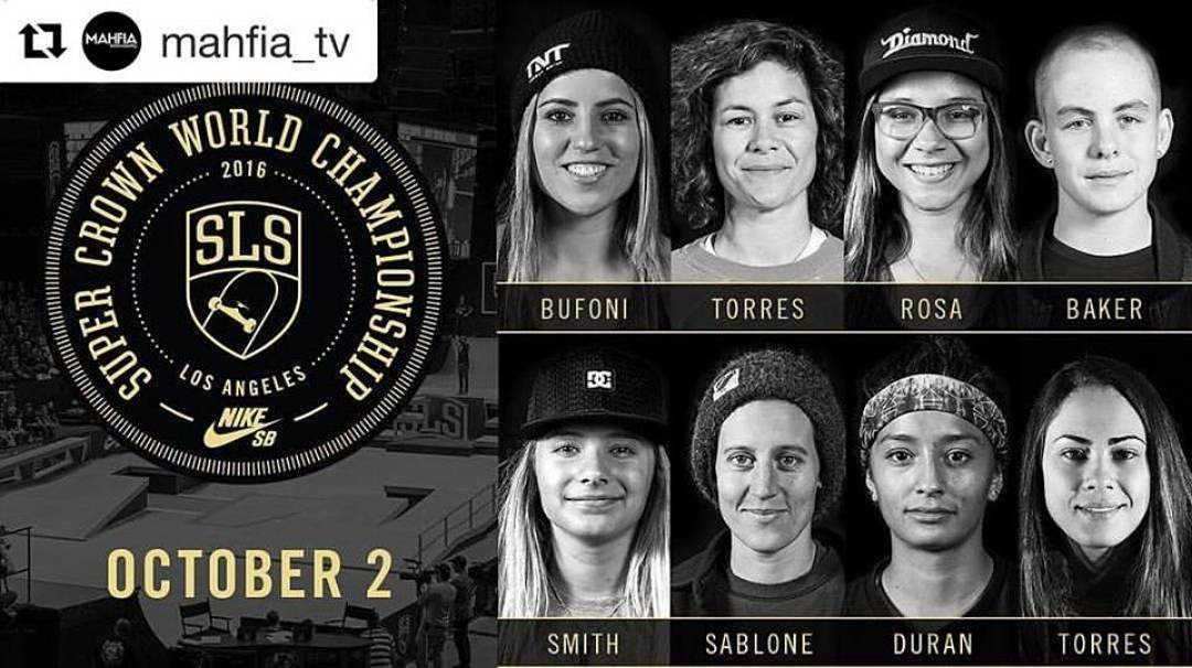 Happening Today!! Women's contest starts at 8:20pm ET!!
