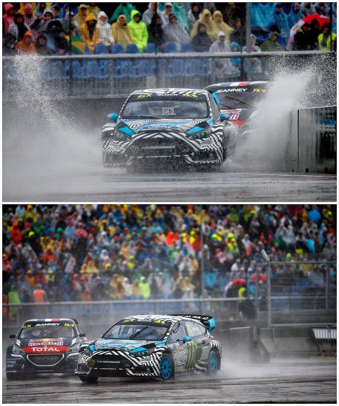 Ran out of talent and luck today here at #LatviaRX. Very wet and tough conditions on the track. I made a small mistake that ruined my Q3 race, then my buddy Gigi Galli moved over very aggressively in the start of our Q4 race and the impact + resulting...