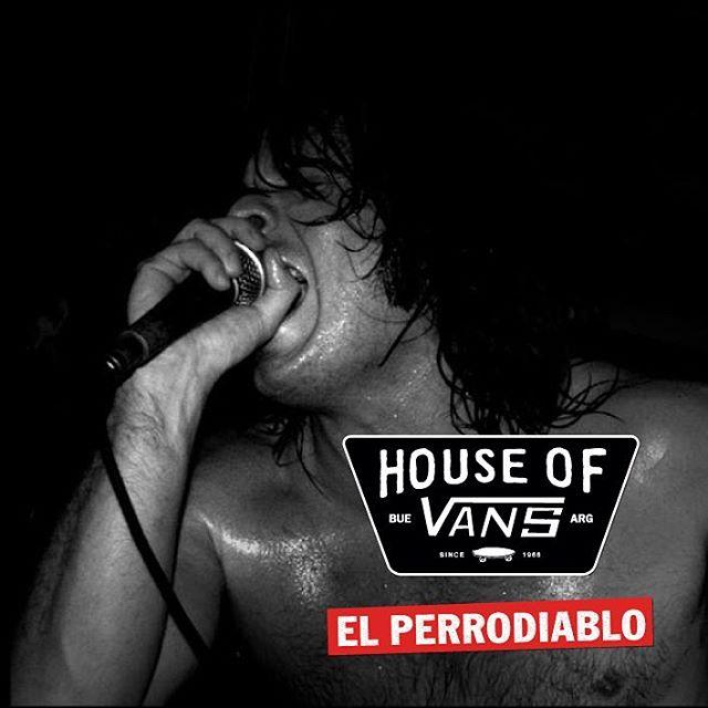 @el_perrodiablo va a tocar en vivo durante la demo de skate y BMX en la #HouseOfVans. 8/10 - 14 HS. - Entradas disponibles en houseofvansbue.eventbrite.com.ar