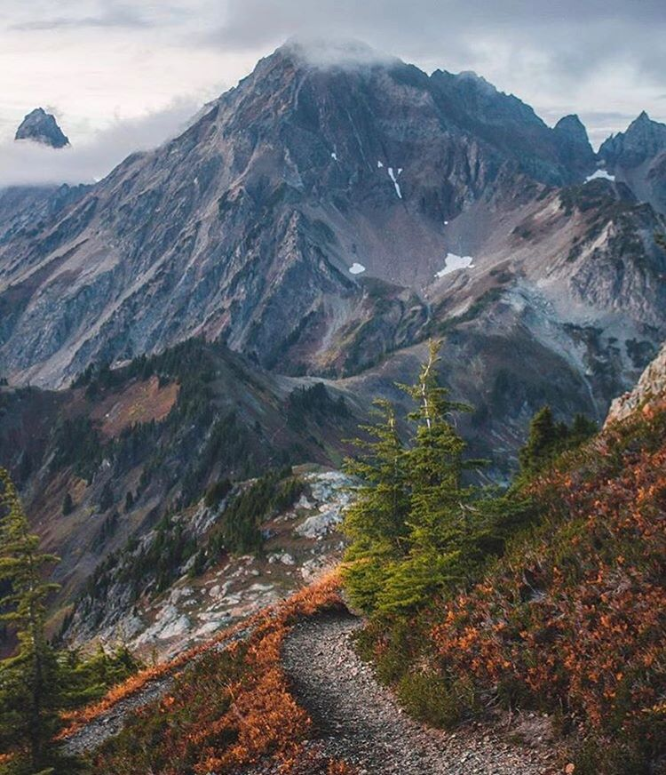 @bakerpow showing off the PNW in a nice early fall glow