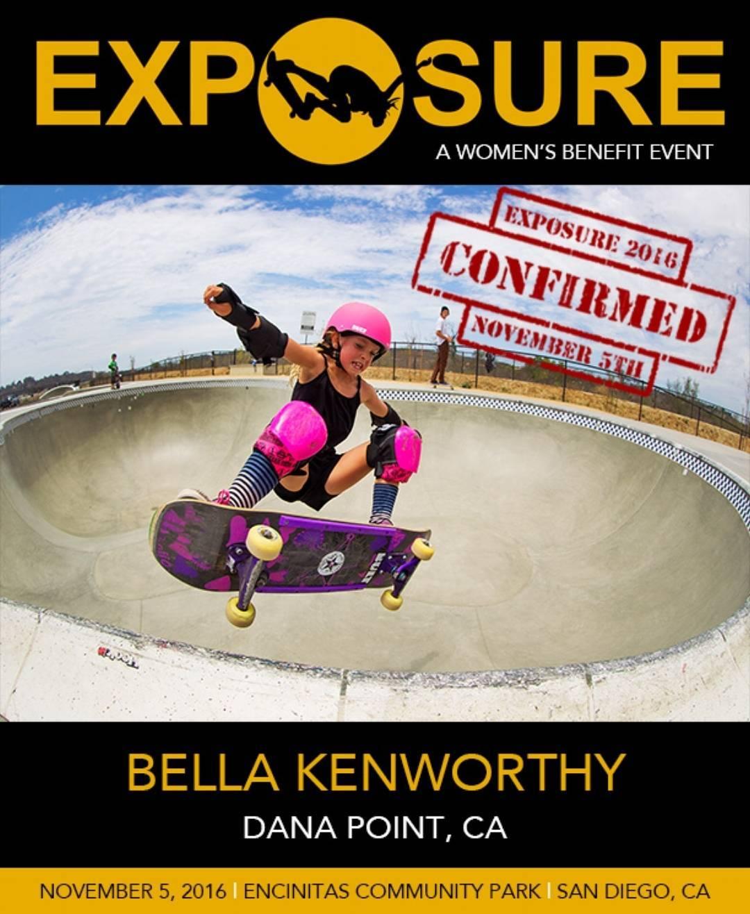 Getting excited to see @bellatreas_kenworthy at EXPOSURE!!
