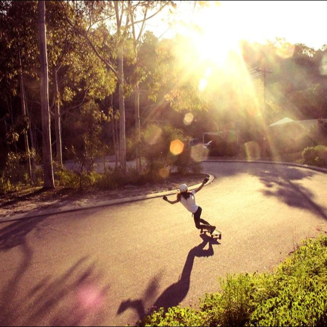 #LGCOpen rider @jennarus rocking the streets of #Perth. Pic Daniel Parish