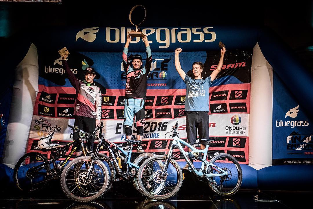 He did it! Massive congrats to Team Lapierre Gravity Republic's Adrien Dailly taking the 2016 U21 Enduro World Series WIN! Super stoked for you Adrien!!! Photo @davetrumporephoto  #SixSixOne #661Protection #ProtectFun #EWSFinaleLigure