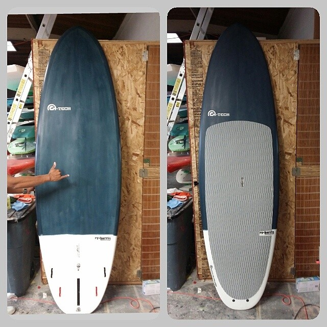 Killer custom BSI SUP shaped by @etechboards for one of our advisory board members, @instareiss1.
