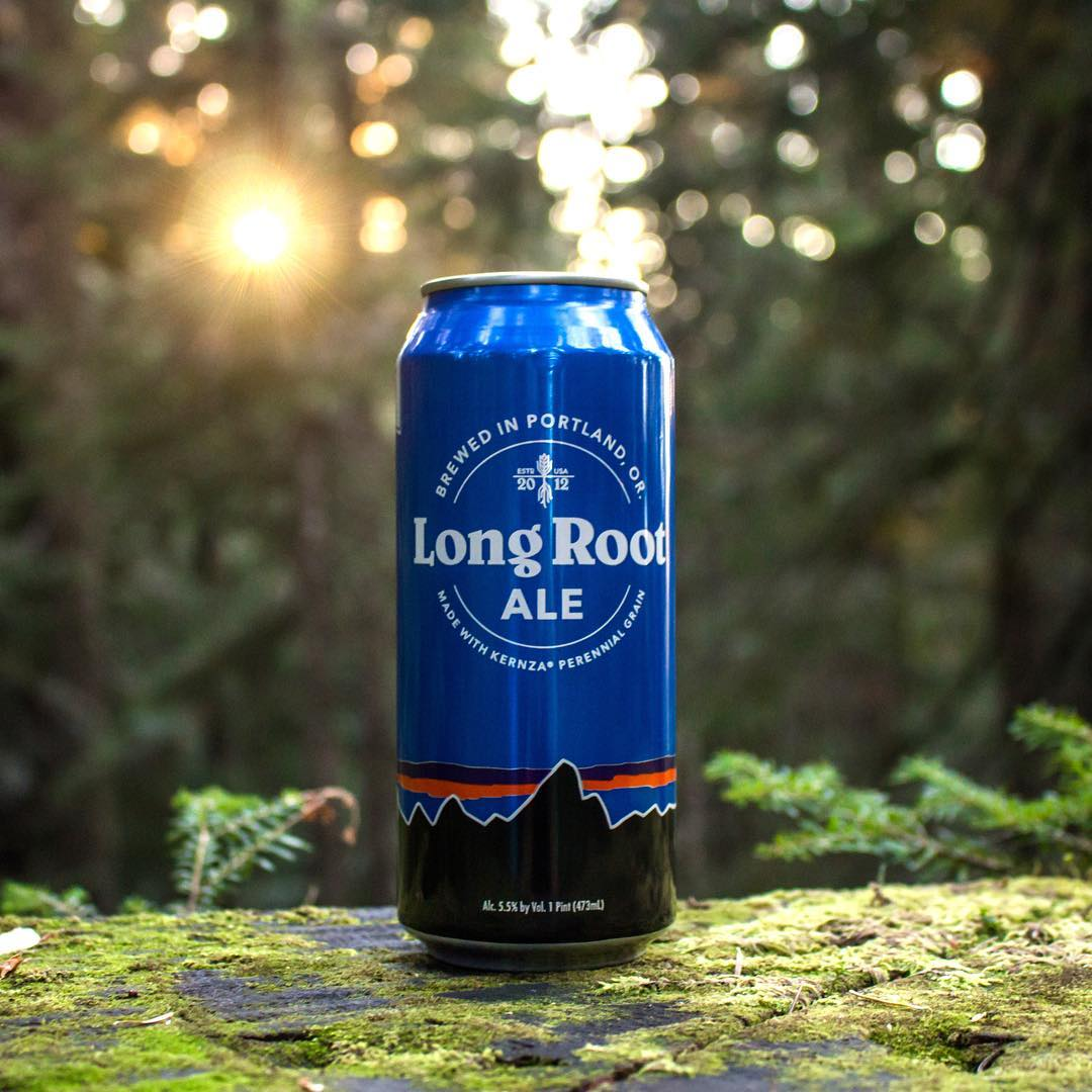 Meet the newest @patagoniaprovisions product #LongRootAle! A fantastic collaboration between new @1percentftp Member @hopworksbeer in Portland, #Oregon & Nonprofit Partner #TheLandInstitute.