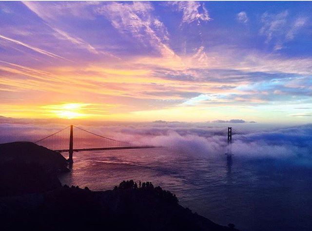 This is your life. Do what you love, and do it often. Sunrise spins in the Headlands!