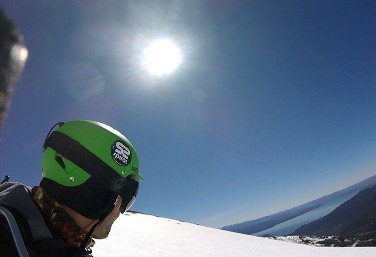Una postal de @jonyspiral en las pistas de Bariloche