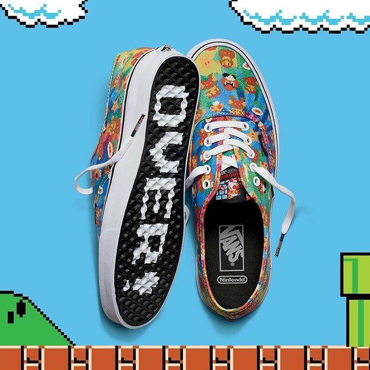 Las #VANSxNintendo de Super Mario Bros. ya están disponibles. Entrá en Facebook.com/vans.arg para chequear la colección completa y los puntos de venta.