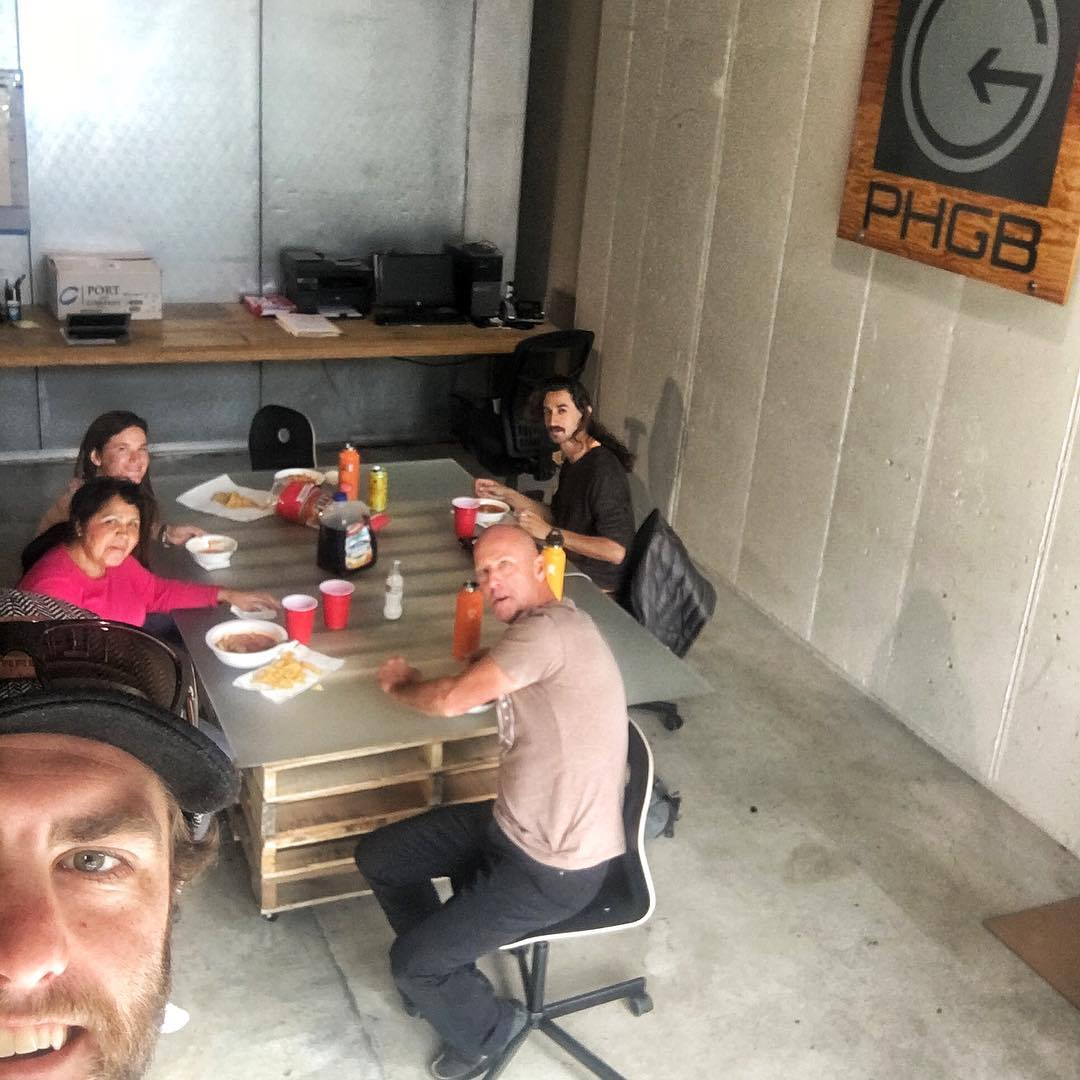 #PHGB team lunch at the HQ!! Homemade, authentic, Mexican meals are the best thanks to team member, Silvia #trailmixmaster!! #teambonding #snackwithpurpose