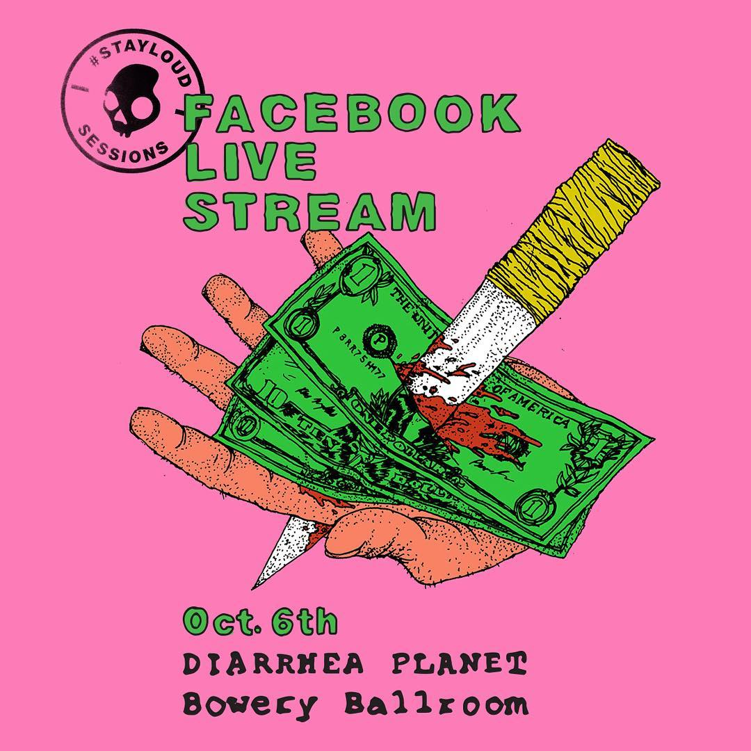 #STAYLOUD Sessions are here!! Thursday we kick things off with @diarrheaplanet