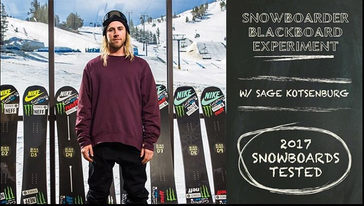 Check out the #blackboardexperiment at snowboarder.com ,our Hooligan is board #6 , they are at board #2 now, so Sunday is our day. Big thanks to @snowboardermag @mammothunbound @mammothmountain @sagekotsenburg and @greydinmccalla #handmadeusa |...