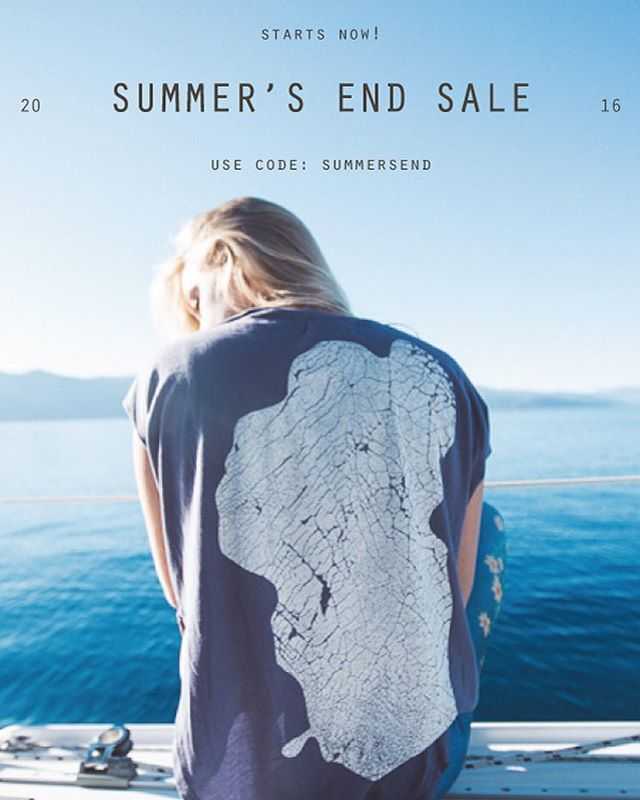 Summer's End Sale starts now! Use code SUMMERSEND at checkout for 30% off the entire web store.