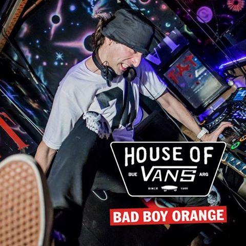 @badboyorange estará presente con su potente drum & bass en la #HouseOfVans. Info y entradas en houseofvansbue.eventbrite.com.ar
