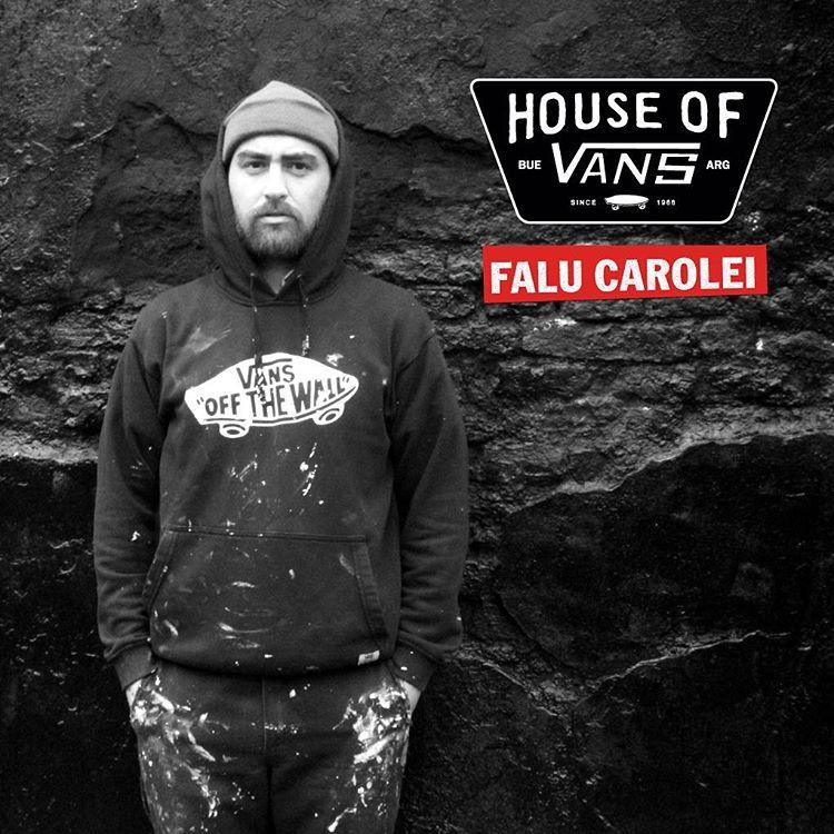 @falucarolei va a estar con sus amigos interviniendo zapatillas, entre otras cosas. Tickets para la #HouseOfVans disponibles en el link de nuestro perfil.