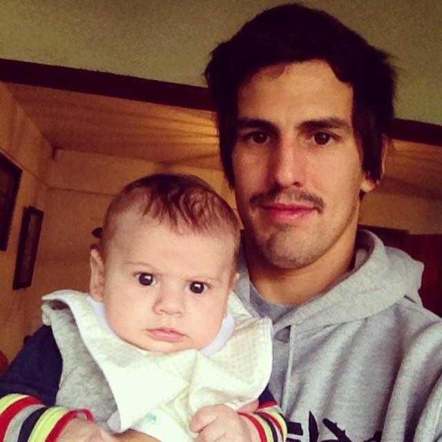 Conociéndonos con mi sobri Borja.