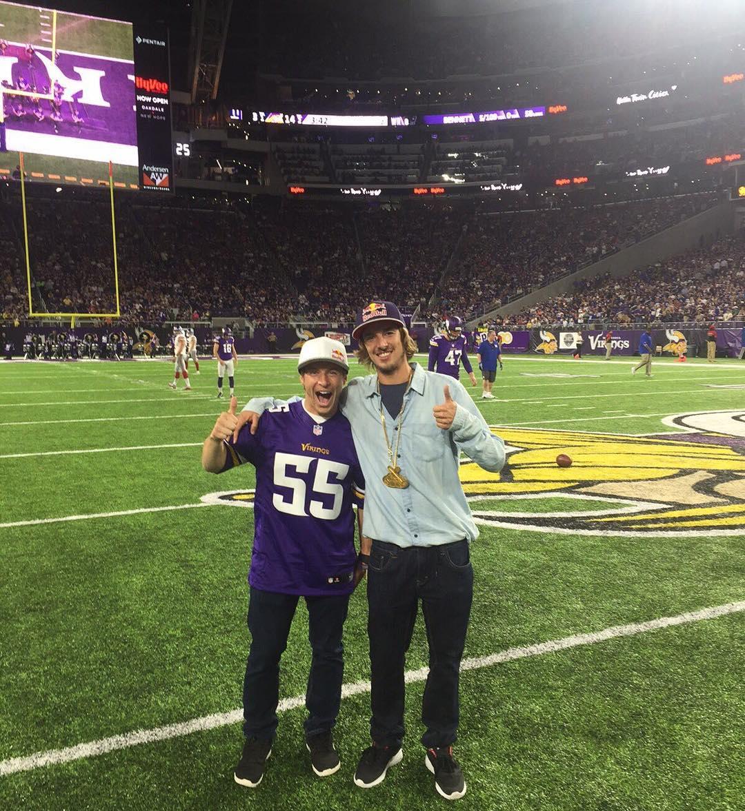 Skol, @Vikings!