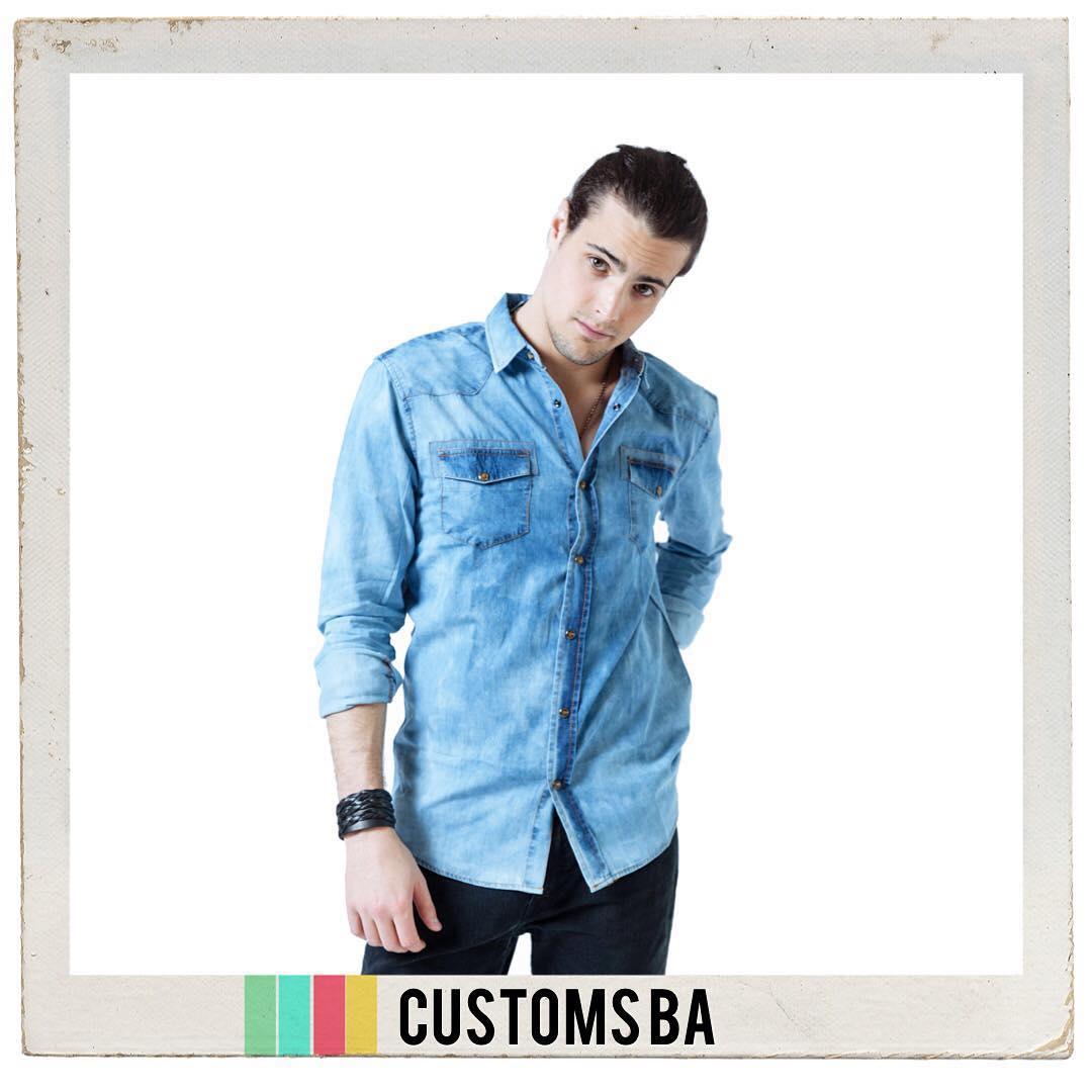 SHOP NOW-> •Camisa Moscu• #ForHim #CustomsBA #details ✨
