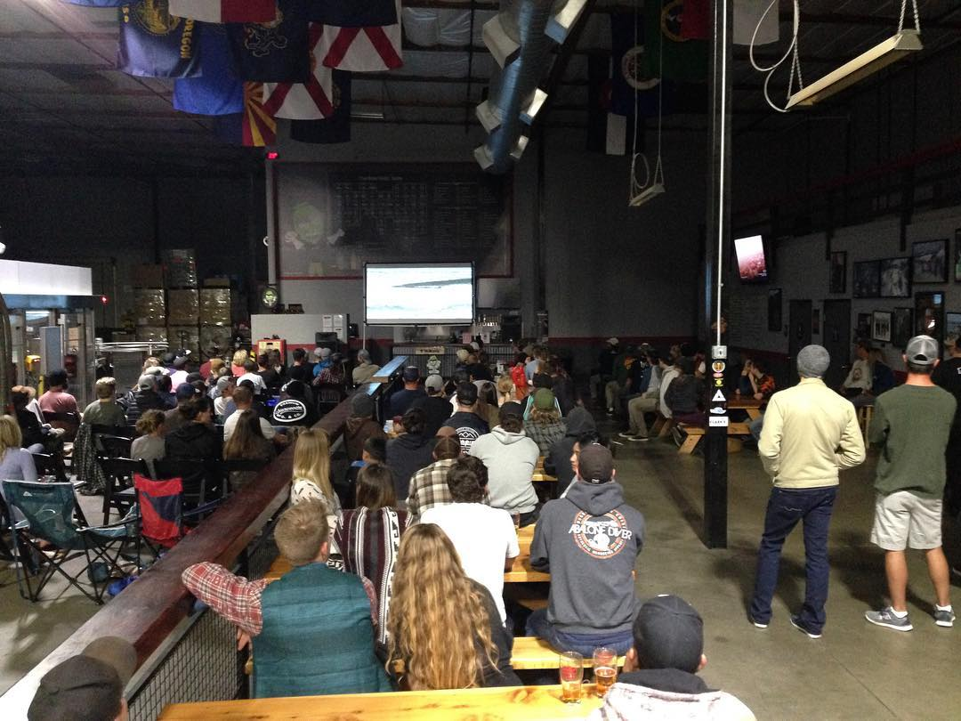 Such a good turn out for the milo/ Travis rice video premiere at knee deep brewery We raised $647 for Colfax skatepark! Thanks to everyone that came out! @milo_auburn @kneedeepbrewingco @colfax.skatepark