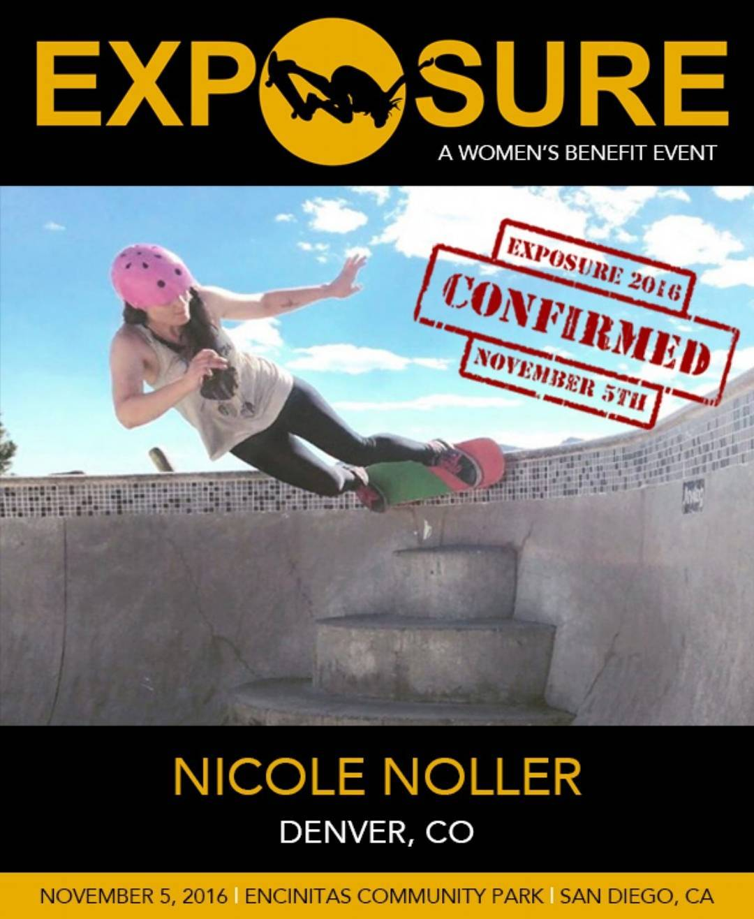 @nicolenoller is gonna get buck wild with us in the Vert and Bowl divisions!!
