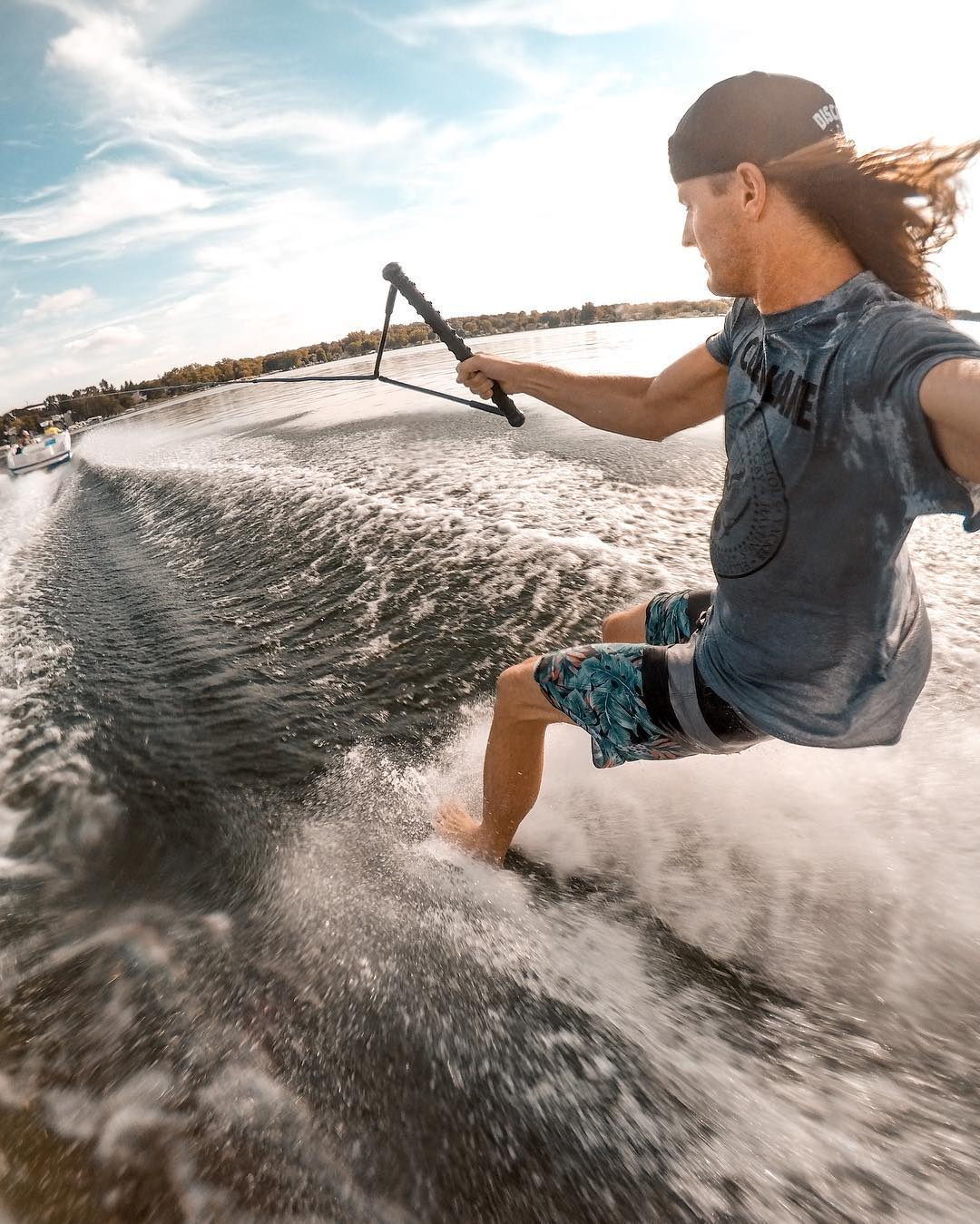 Things we will miss about summer: living that #LakeLife like our boy @rorykramer. #GoPro #HERO5