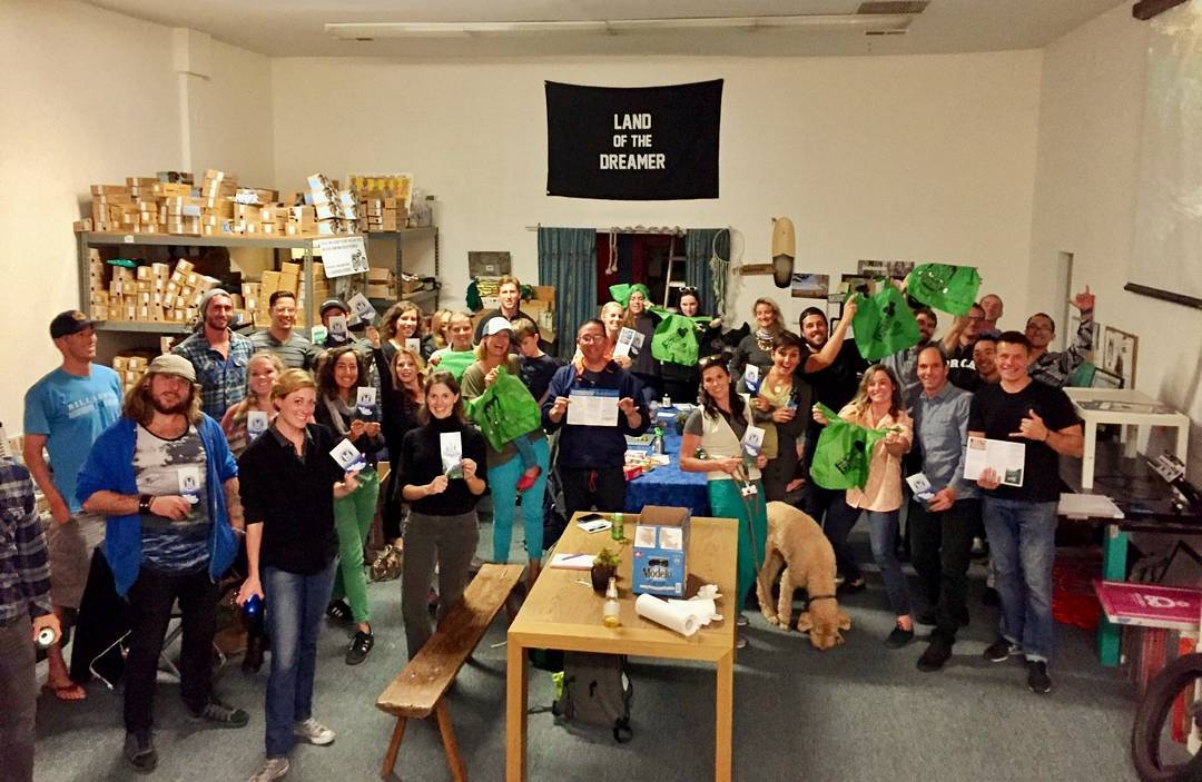 Another great chapter meeting in the books! Thanks to all you awesome activists who are ready to fight for the state-wide plastic bag ban! Check out https://www.surfrider.org/priority-campaigns/say-yes-to-ca-plastic-bag-ban to see  how you can get...