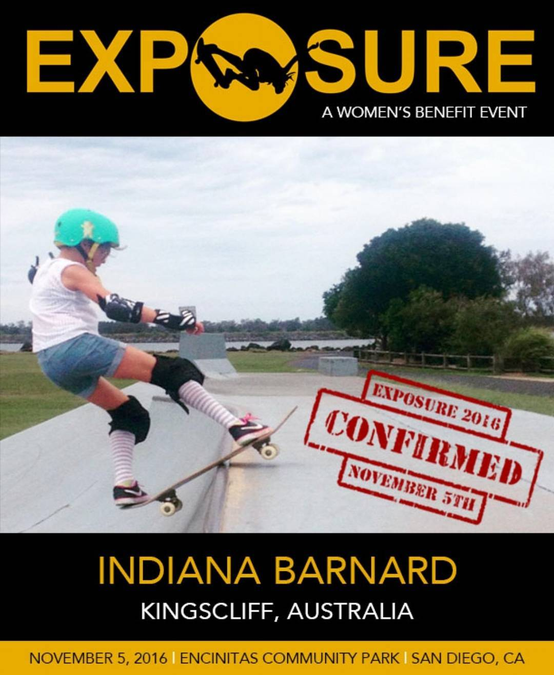 Stoked that @indi_banana_jam is going to compete in our 14 and Under Bowl!