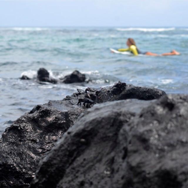 Nos vamos disfrutando la buena energía de las olas ;) Foto: @agustinacerruti  #soul #surfing #waves #weekend #reefargentina