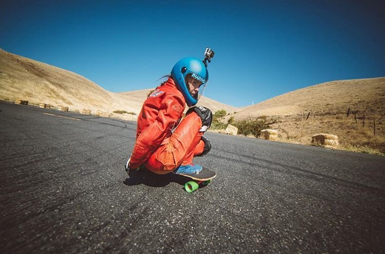 @noramanger shot by @skatography during this past weekend's Maryhill Freeride. Nora is one of the youngest downhill riders out there!