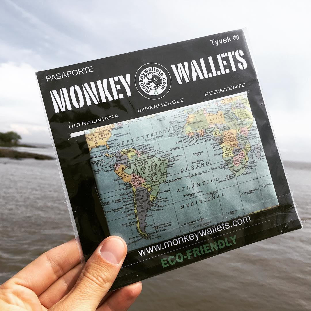Porta Pasaportes by #monkeywallets