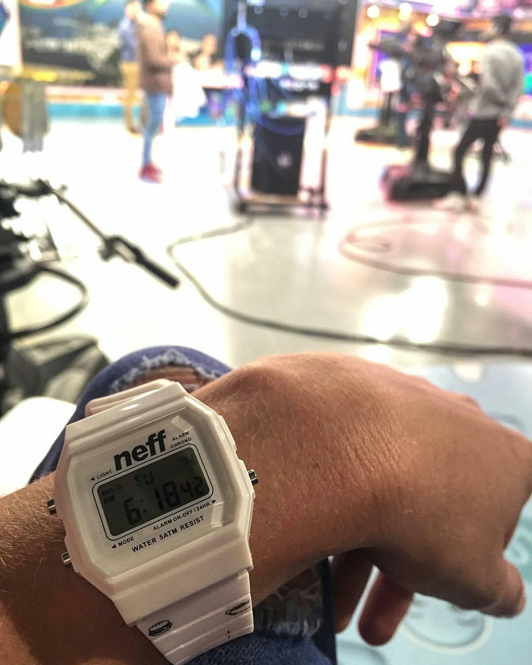 @lelumendy con su reloj @neffargentina. #foreverfun #NeffArgentina #Youreoneofusnow