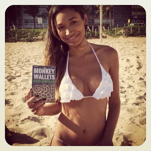 #monkeywallets #riodejaneiro #copadomundo #2014 #garota #ipanema @monkeywallets