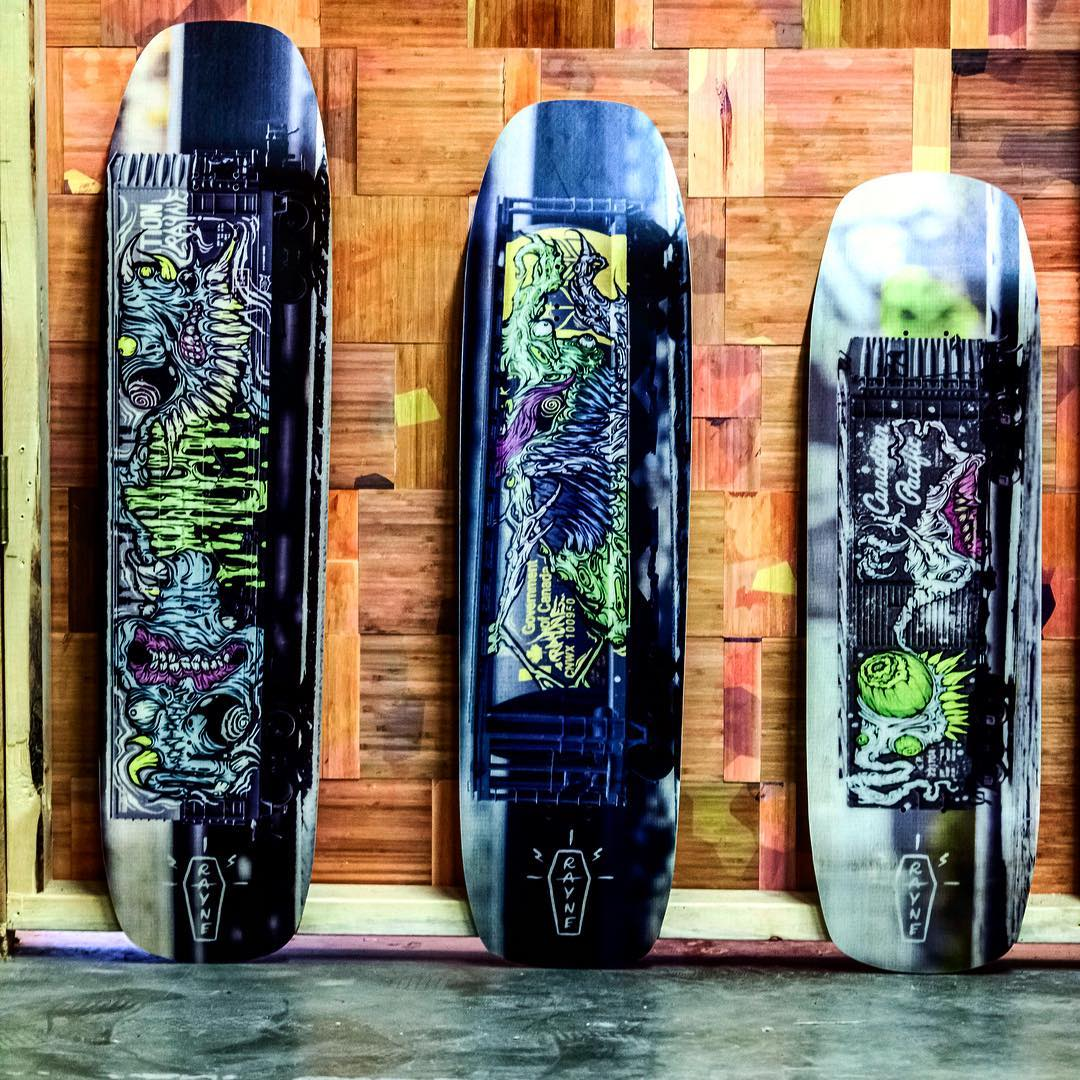 A skateboard you can't focus?! . The #SlideSeries are an old but not forgotten series of #skateboards that we introduced years ago to shred everything from the sidewalk, to hills, to the skatepark. A limitless amount of terrains can be conquered....