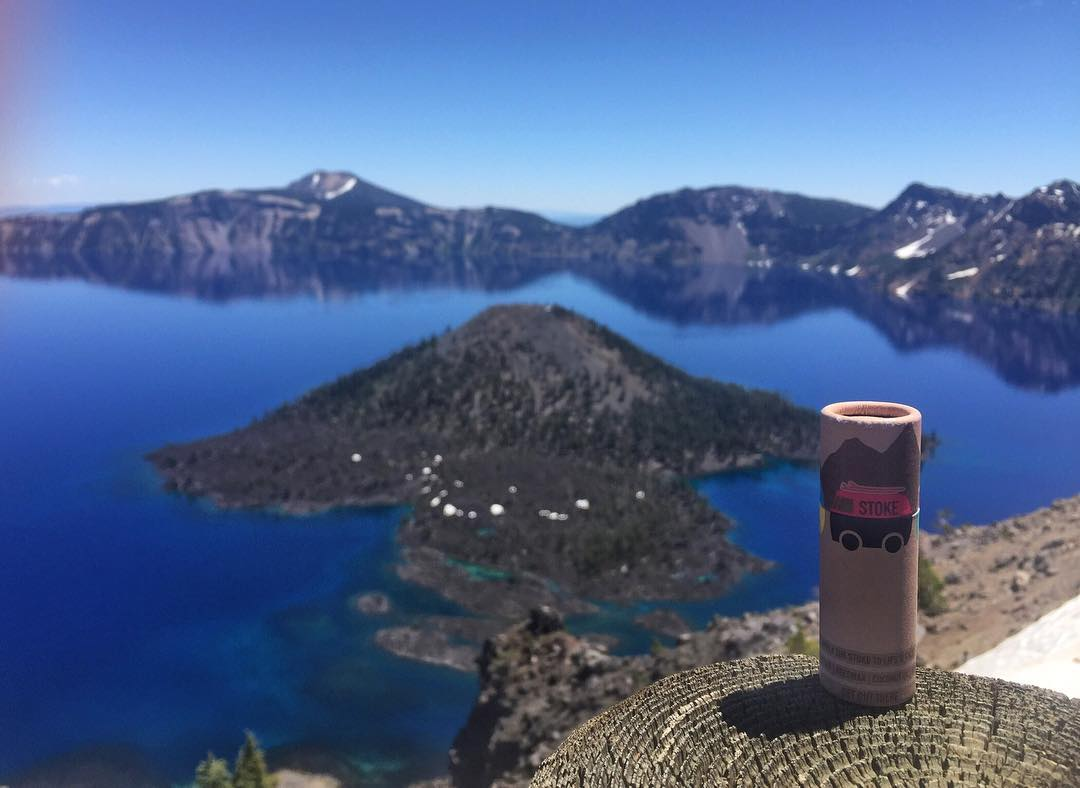 Crater Lake is one of those places that will make even the most experienced explorers straight up stoke themselves.