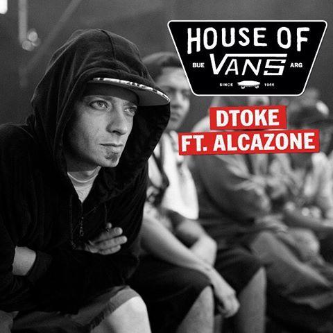 En la #HouseOfVans también habrá rap. Y ahí estará @dtokefree junto a @alcazonepmc. Este sábado, a partir de las 14, en Niceto a Vega y la vía.