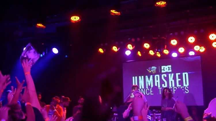 The @maskedgorilla & DC @unmaskedla Concert Series continued last month with a sold out show featuring @imrealugly. Watch the full interview and show recap now playing at: TheMaskedGorilla.com. #dcshoes #maskedgorilla