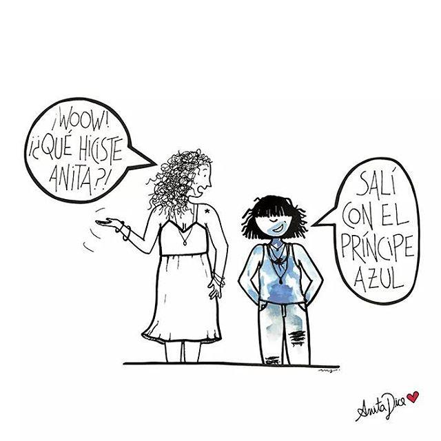 Adoré.  #anitadice #principeazul