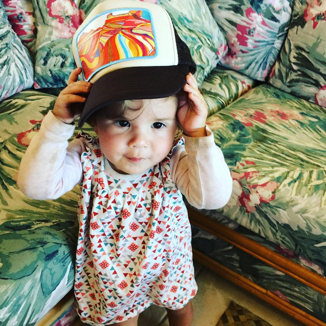 My favorite little hat model. @christina.cogswell