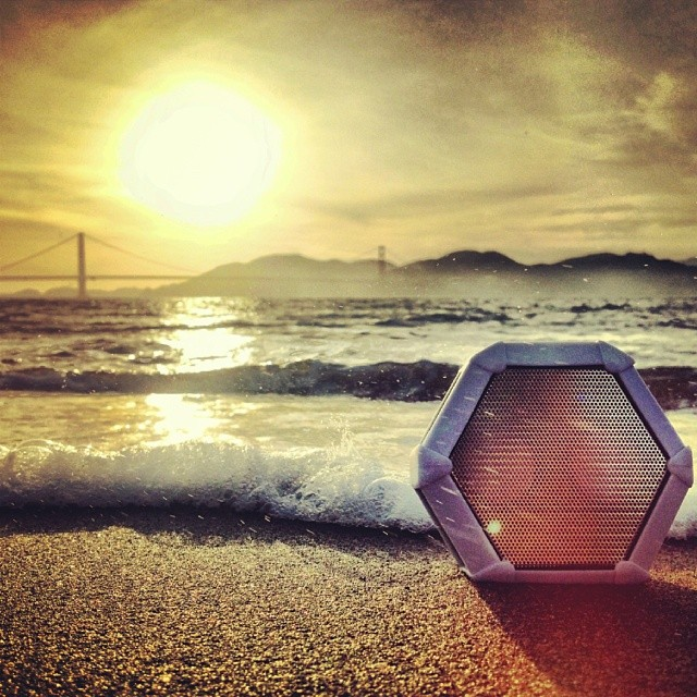 Life just wouldn't be the same without music. #beach #sun #scenic #inspire #boombotix