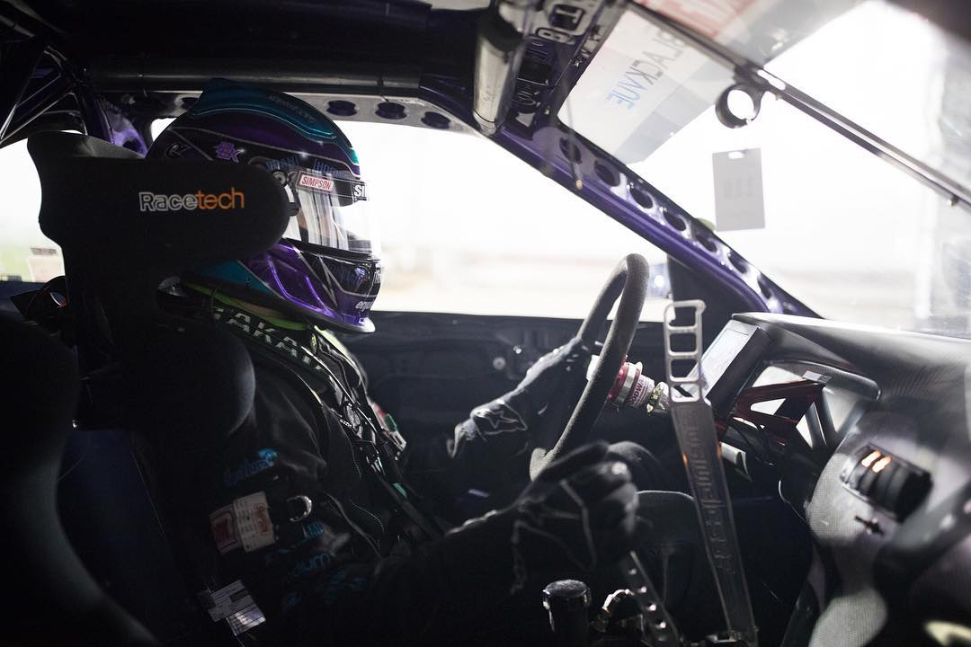 No casual Fridays for @alechohnadell this week. @formulad Irwindale is underway. Come out! #fdirw