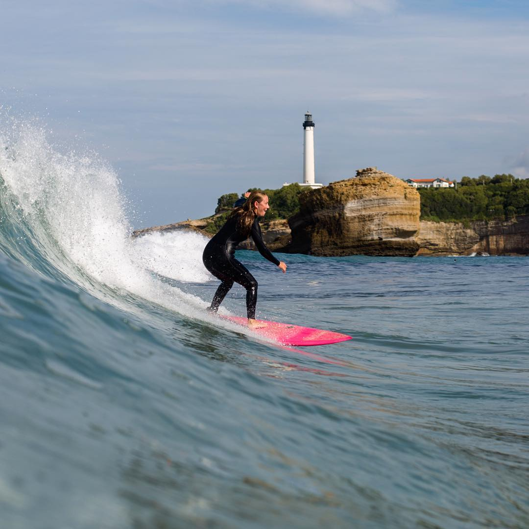 Welcome to Biarritz, the birthplace of surfing in Europe!