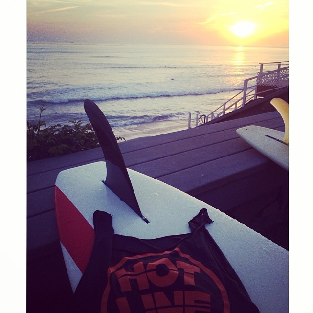 ~Just another perfect day~ #HotlineWetsuits #SantaCruz #California #SummersHere
