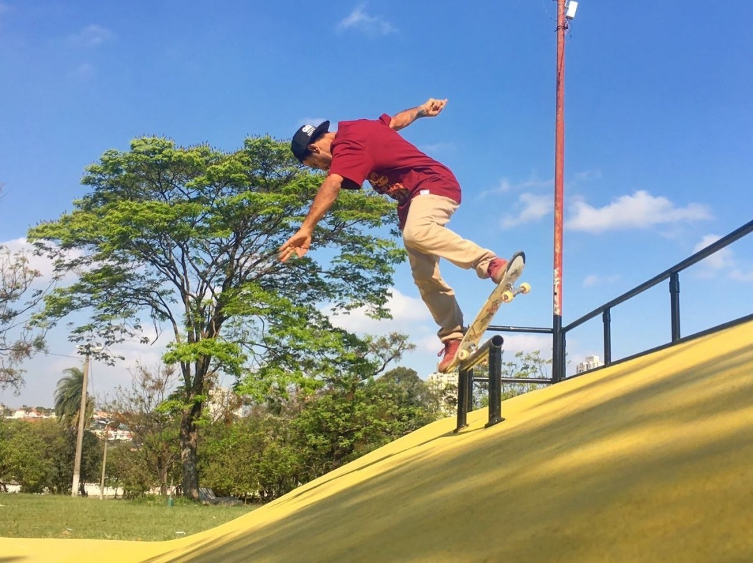 @rodrigoleal Maizena - Over crooked na pista pública dos Paturis em Carapicuíba - SP. #qix #qixskate #skate #skateboardminhavida