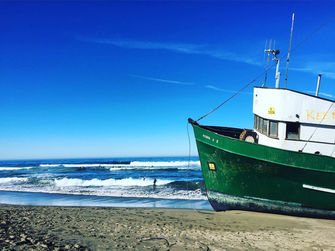 Anchors Away ⚓️ #beachday #bodegabay #outposttrade