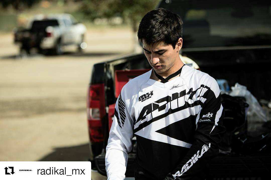 #Repost @radikal_mx with @repostapp ・・・ @brandonscharer steezin yesterday @milestonemx getting some #MonsterCup prep in. #RadikalMX #RadikalRacing  Photo @matt_cordova