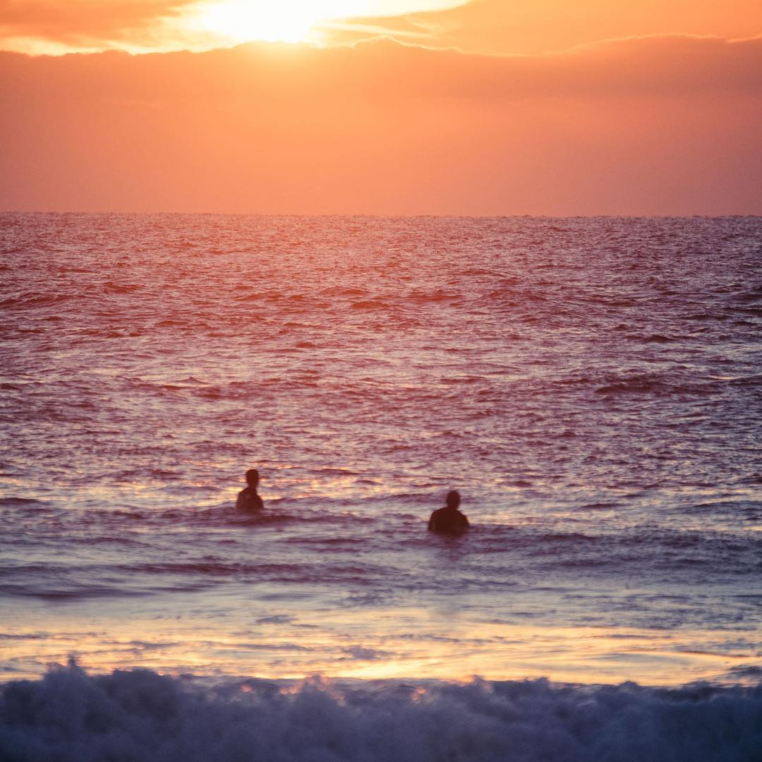 Quite possibly the best place to take in a French sunset #ROXYpro