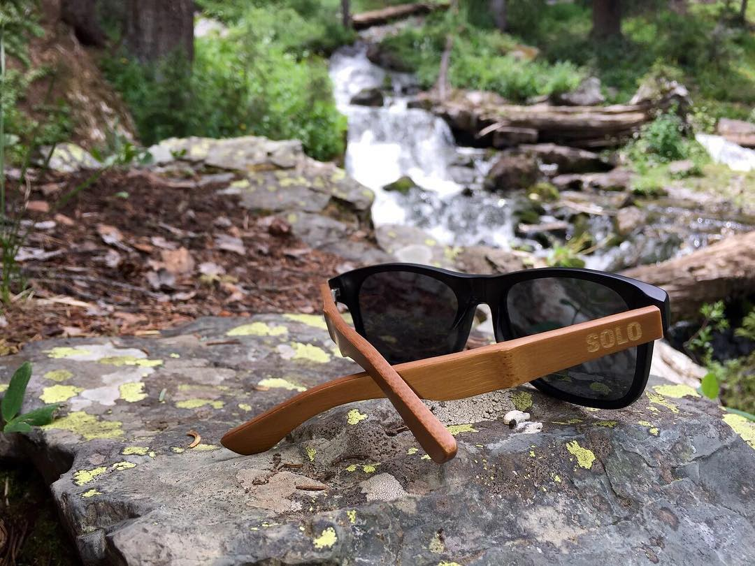 Do we ever cross your mind?⠀ --⠀ Did you know that the pieces of the sunglasses that are held by your ears are called temples? ⠀ ⠀ Did you know we source bamboo scraps and repurpose them into our temples?
